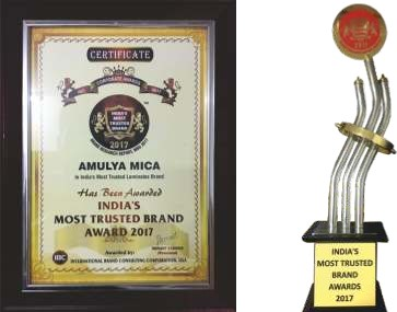 Daily Indian Media India's Most Trusted Brand Award 2017