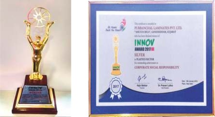 Innov Award 2017 CSR Category