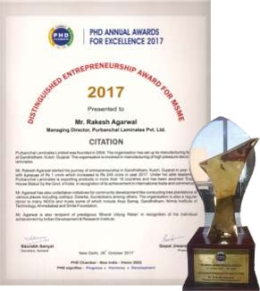PHD Chamber of Commerce & Industry Distinguished Entrepreneurship Award 2017 (2017)