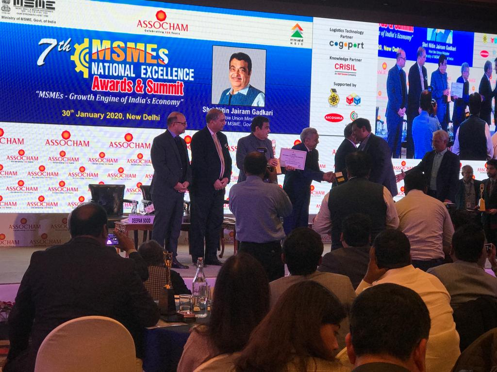 7th MSME EXCELLENCE AWARD FOR MOST PROMISING BRAND 2019:  AMULYA MICA