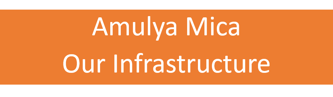 Amulya Mica. Our Infrastructure