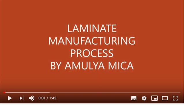 How Laminate Is Manufactured